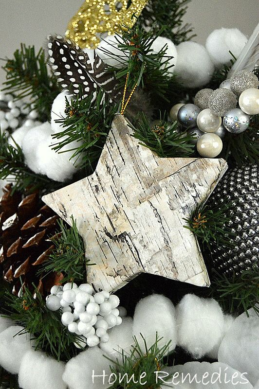 How To Make A Birch-Bark Ornament - The Easy Way | Home Remedies Rx.com                                                                                                                                                                                 More