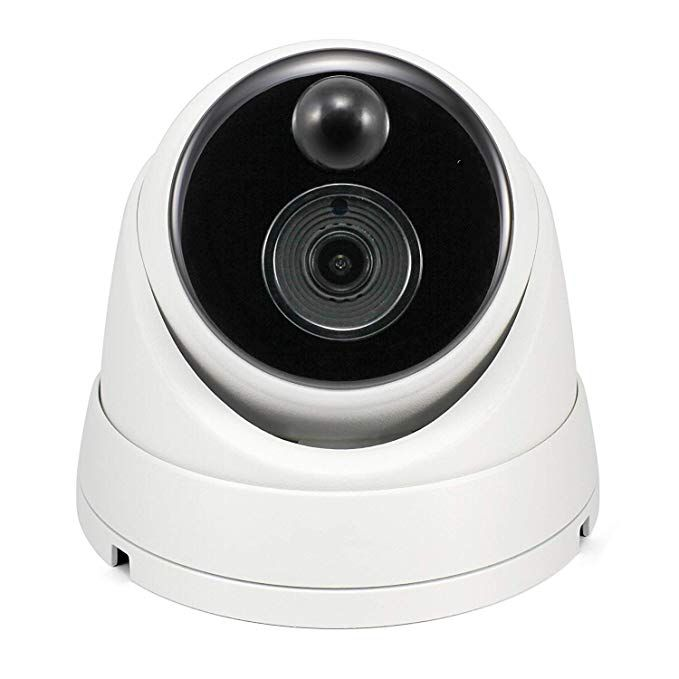 Swann 5mp Dome Nvr Security Camera With Heat Wireless Home Security Systems Home Security Tips Home Security Systems