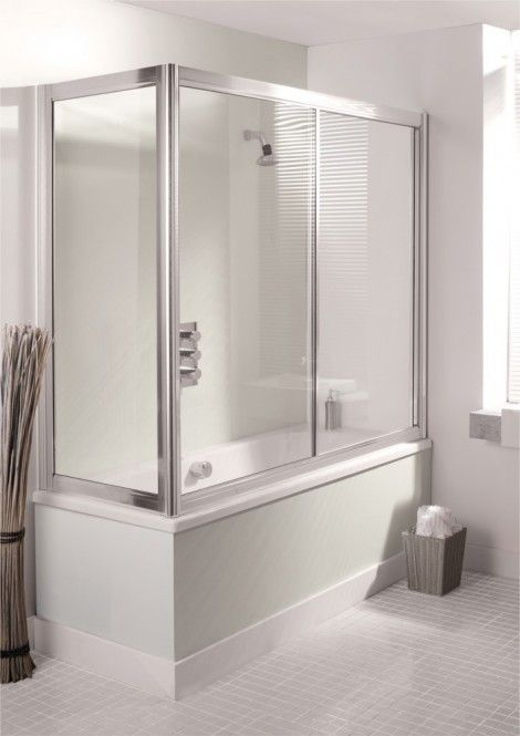 Simpsons Supreme Overbath Slider 5301 Bath Screens At The Best Price Online With Rapid Delivery
