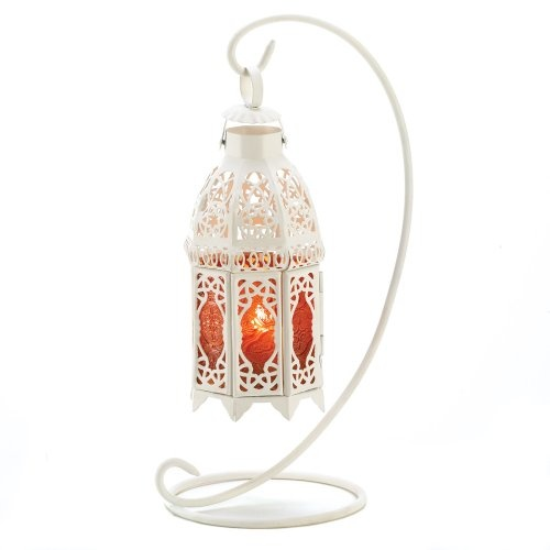 Gifts  Decor Amber Glass Iron Moroccan Style « Cheap Apartment Decorating