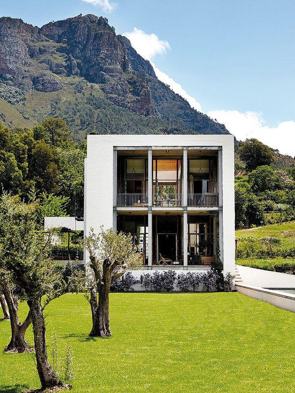 Natural life: a modern farmhouse | Una granja moderna en Sudáfrica | casahaus.net
