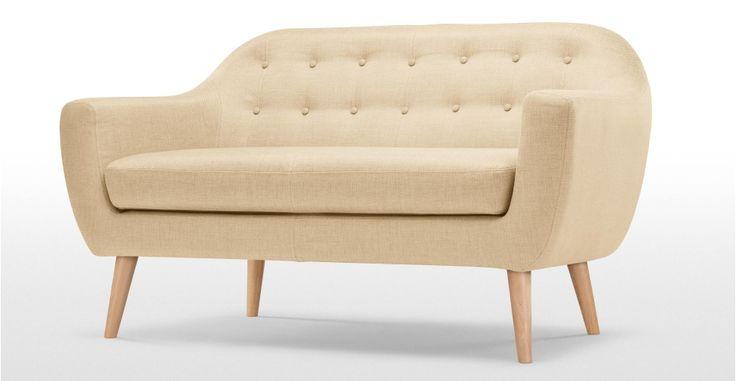 Ritchie 2 Seater Sofa in barley beige   made.com