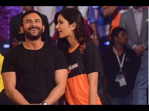 WATCH Saif Ali Khan and Katrina Kaif at the grand final of PRO KABADDI LEAGUE 2015. See the full video at : https://youtu.be/DOzugA6wqdM #saifalikhan #katrinakaif #prokabaddileague