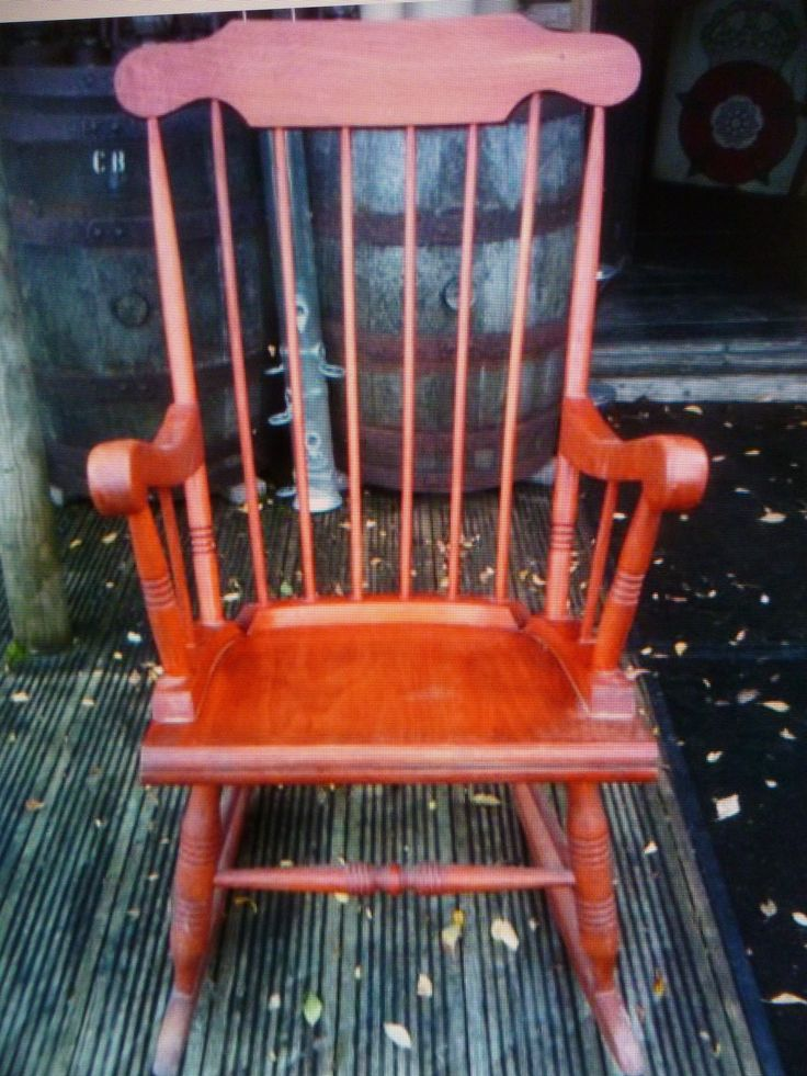 Old rocking chair in need of an update..
