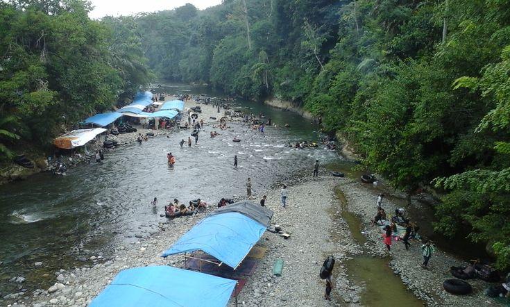 Pemandian Alam Batu Katak Sensasi Berpetualang di Sumatera Utara - Sumatera Utara