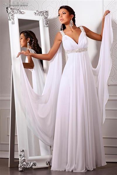 Свадебное платье греческой богини