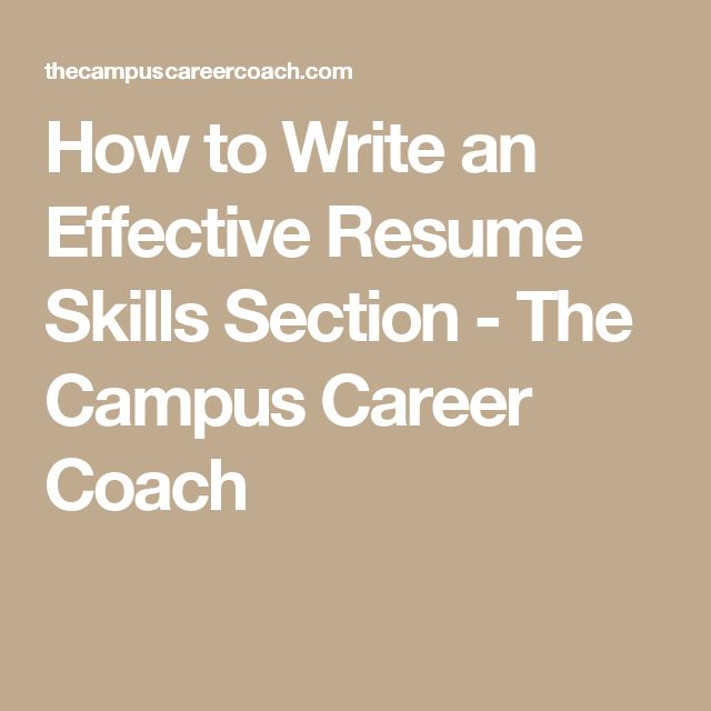 Más de 25 ideas únicas sobre Resume skills section en Pinterest - skills section on a resume