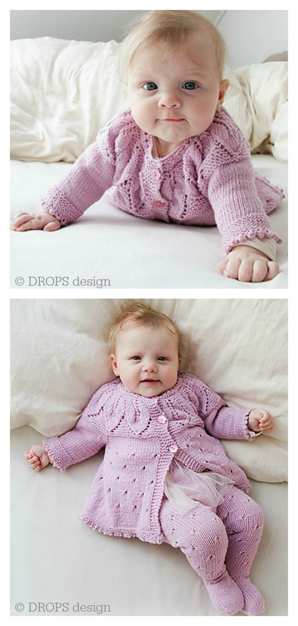 Create This Warm And Cozy Set Of Knitted Cable Baby