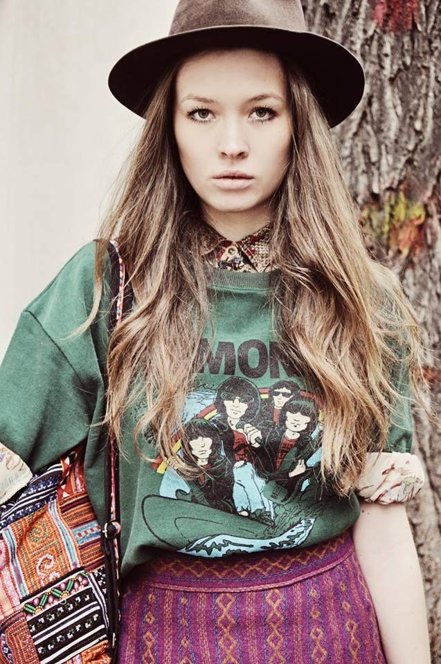 #fashion #model #vintage #spring #shooting #ramones