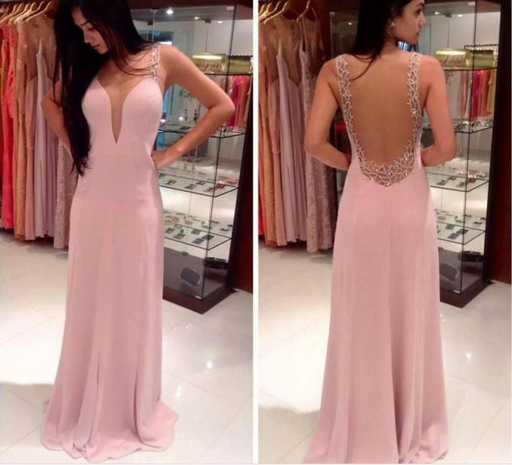21 best pink dress images on Pinterest | Party wear dresses, Evening ...