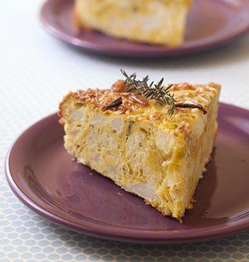 Gâteau au chou-fleur et parmesan - Ôdélices : Recettes de cuisine faciles et originales !