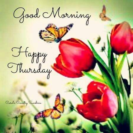 Spring Good Morning Thursday Quote