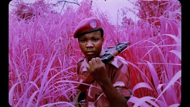 Artist and photographer Richard Mosse reveals the stories behind the making of his latest film, 'The Enclave' (2013), in the Democratic Republic of Congo. The film was shown in the Irish Pavilion at the 55th Venice Biennale and was the 2014 winner of the Deutsche Börse Photography Prize.