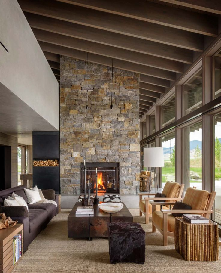 Montana Ranch House By Suyama Peterson Deguchi: 15 Rustic Home Decor Ideas For Your Living Room