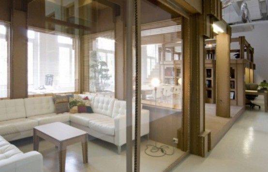 IncredibleCreative Home Office Made of Cardboard https://freshouz.com/creative-home-office-made-of-cardboard/