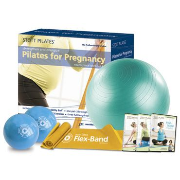 Have a pregnant fitness enthusiast to buy for? Try the Pilates for Pregnancy Workout Kit