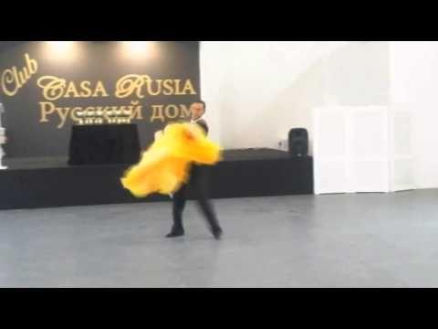 CEZAR & KATERINA VIENNESE WALTZ MARBELLA - YouTube