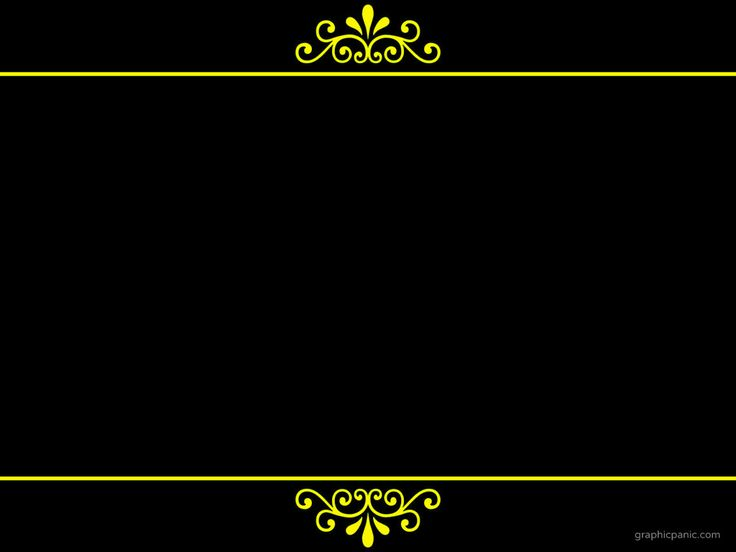 Royal Border Background | PowerPoint Background & Templates