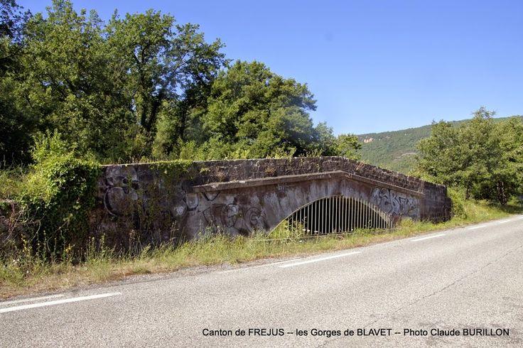 Pont du Blavet, route du Muy