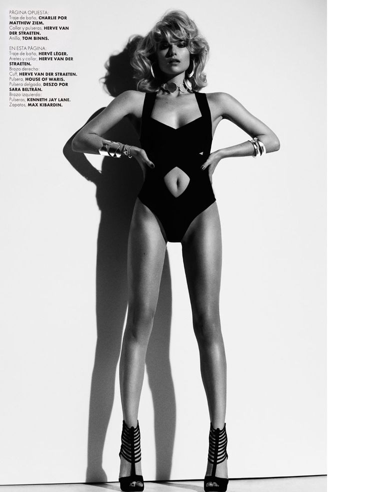 Farah Holt is Sexy in Swim for Hannah Khymych in Elle Mexico May 2013   Fashion Gone Rogue: The Latest in Editorials and Campaigns