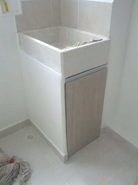 Muebles ba os y lavaderos mbl8 ideas para el hogar - Muebles para lavaderos ...