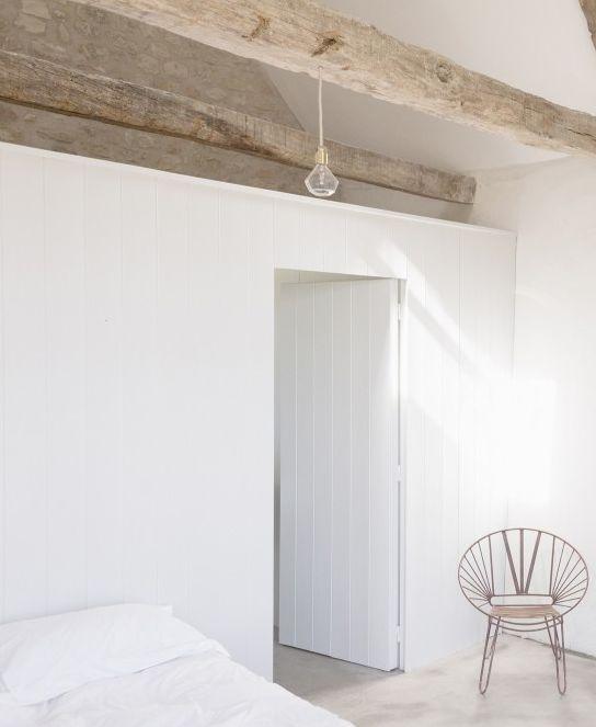 les 25 meilleures id es de la cat gorie poutres au plafond peint sur pinterest poutres peintes. Black Bedroom Furniture Sets. Home Design Ideas