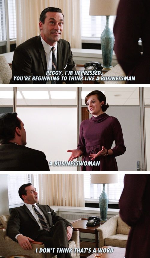 Mad Rock Mashup Of Mad Men And 30 Rock Businesswoman?