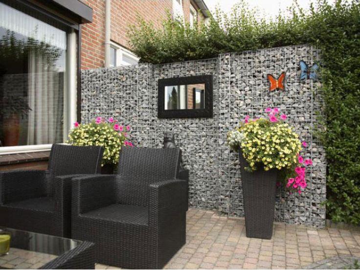 Garden Feature Wall Ideas 110 best gabion garden features images on pinterest gabion wall gabion wall expert gabion wall gallery gabion images workwithnaturefo