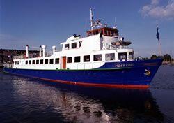 Partyboot Moby King van rederij Tisset