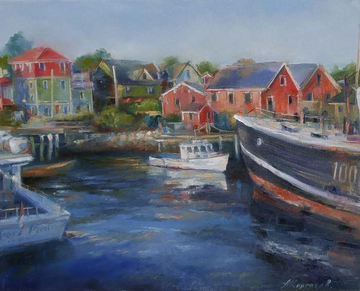 View Lunenburg by Alexander Koltakov. Browse more art for sale at great prices. New art added daily. Buy original art direct from international artists. Shop now