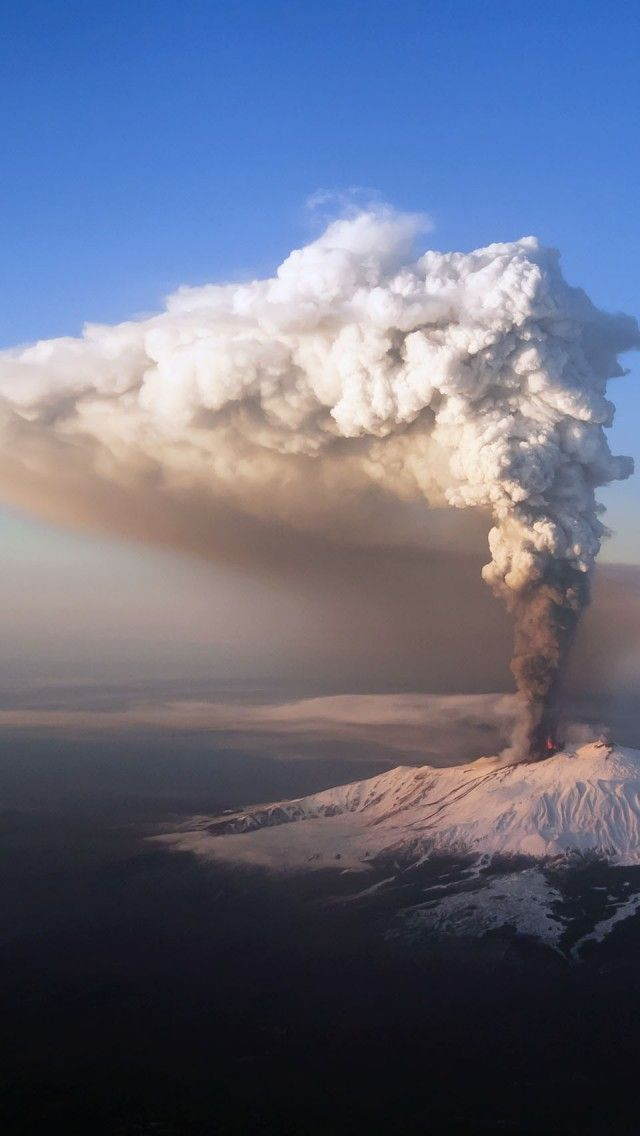 Mount Etna, Italy Messina Sicily