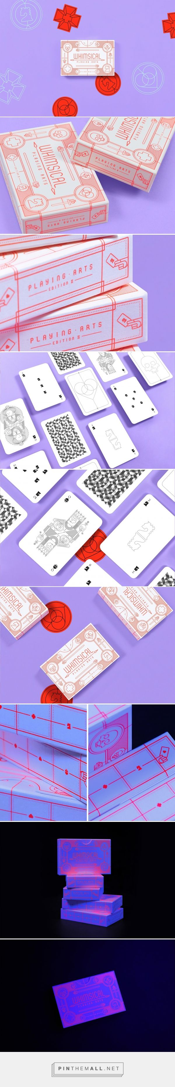 Whimsical Playing Cards | Edition II packaging design by Oksal Yesilok - https://www.packagingoftheworld.com/2018/03/whimsical-playing-cards-edition-ii.html