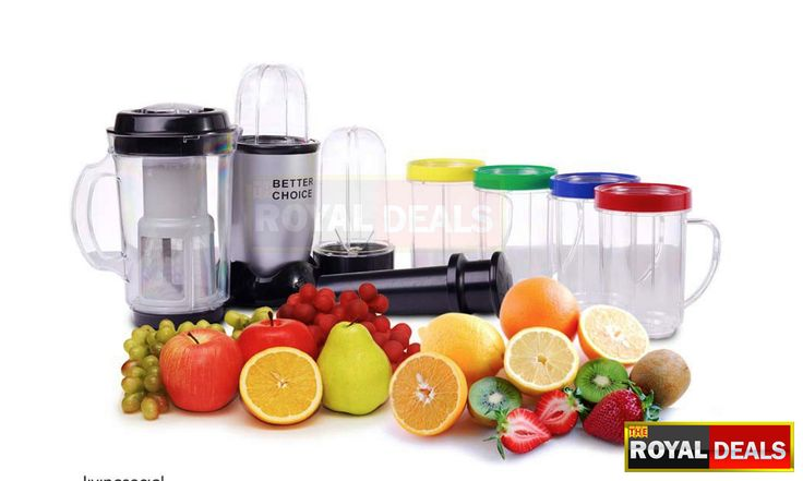Better Choice All-in-One Blender (Magic Bullet) the Ultimate Kitchen Accessory - Chop, mix, blend, whip, grind and more with this handy tool! Just for AED 120 Limited stock http://www.theroyaldeals.com/index.php/deal/30/better-choice-all-in-one-blender