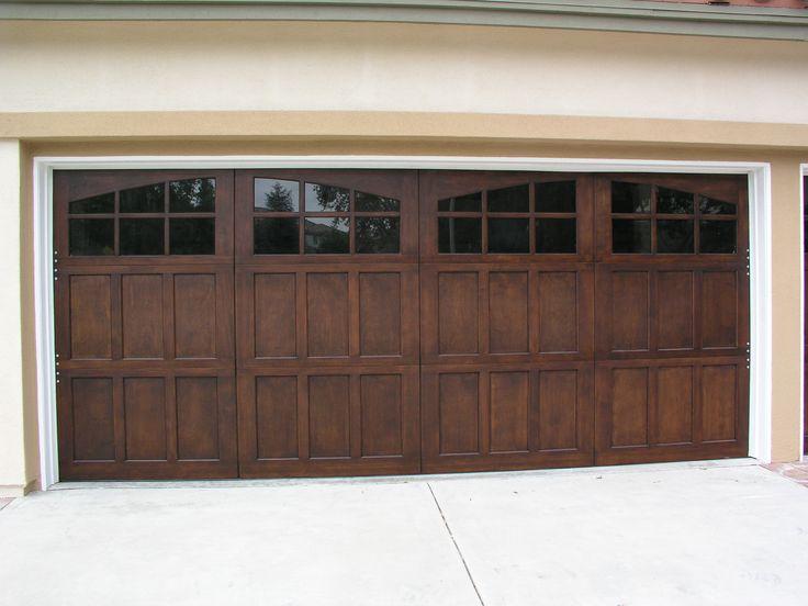 Beautiful Wayne Dalton 9700 Walnut Garage Door.  Los Angeles, CA Photo Credit…