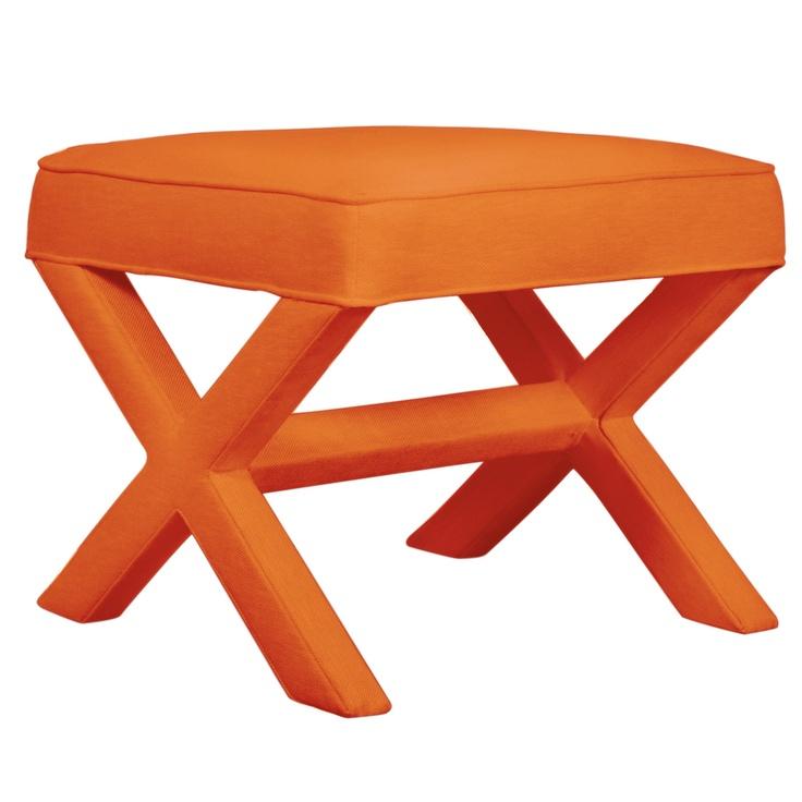 X Bench In Belgium Tangerine