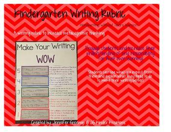 ideas about Kindergarten Writing Rubric on Pinterest     Kathy Schrock s Guide to Everything    Fantastic Writing Rubrics for Kindergarten   writing goals   Teach Junkie