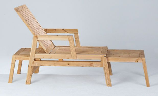 die besten 10 ideen zu liegestuhl basteln auf pinterest relaxliege gartenlounge selber bauen. Black Bedroom Furniture Sets. Home Design Ideas