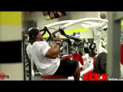 Фил Хит - Мистер Олимпия - тренируем спину