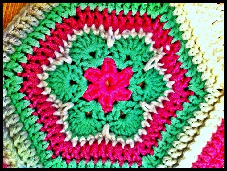 Hvordan hekle afrikansk blomst | www.sulvis.com