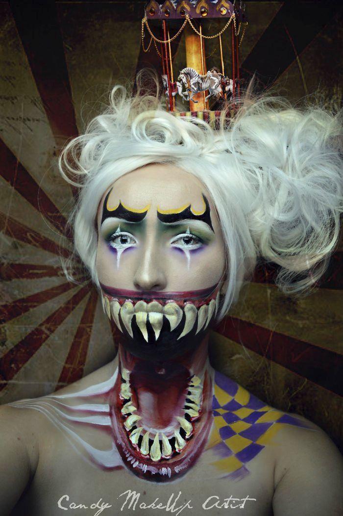 GALERIE: Děsivý make-up: Tyhle zrůdy byste potkat nechtěli! | FOTO 1 | Pro ženy | Blesk.cz