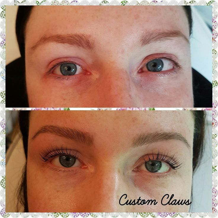 High definition brows lvl lashes