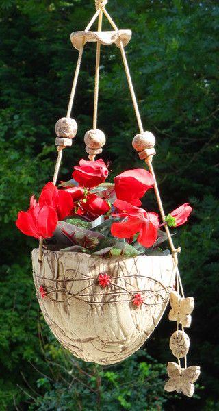 Die besten 25+ Blumenampeln Ideen auf Pinterest Diy hängender - blumenampel selber machen hangekorb