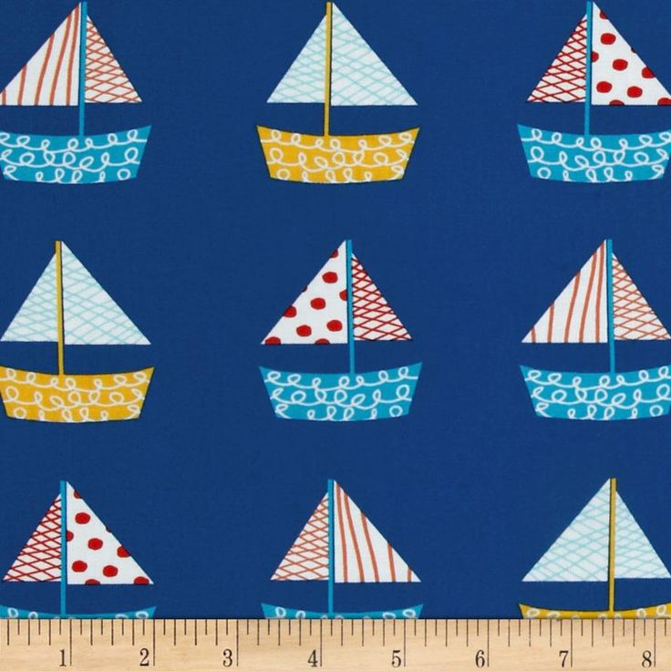 24 best images about nautical on pinterest nautical for Nautical nursery fabric