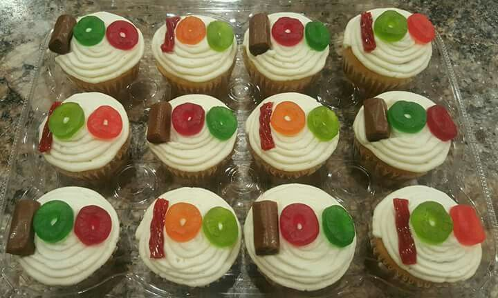 Happy 100th Day of School Cupcakes! Grow in the grace and knowledge of our Lord and Savior Jesus Christ.-2 Peter 3:18 Forheavenscakes2016@gmail.com