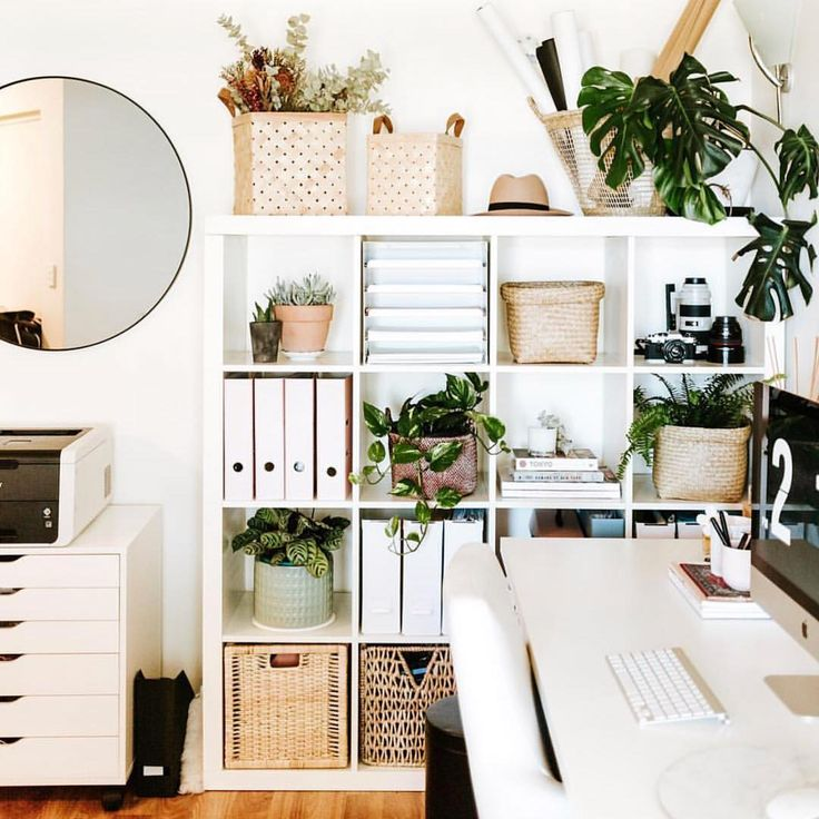 Home office goals by Merlina Lam! Kmart has such a…