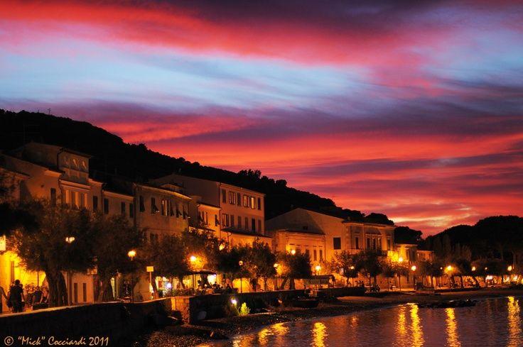 Elba Island Italy | Sunset in Marciana Marina (Elba island-Italy ... | Isola d'Elba - …