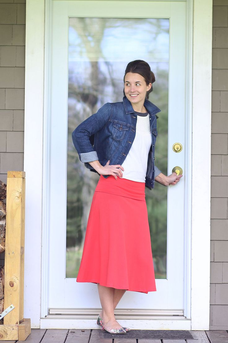 124 best Long Casual Skirts images on Pinterest | Casual skirts ...