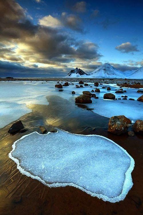 Vesturhorn, Iceland.