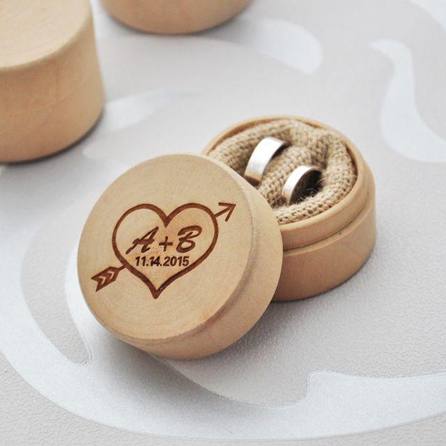 Wooden box for rings with engraved to order. Want to buy? Click on the image! :)    Деревянная коробка для колец с гравировкой под заказ. Хочешь купить? Кликни на изображение! :)