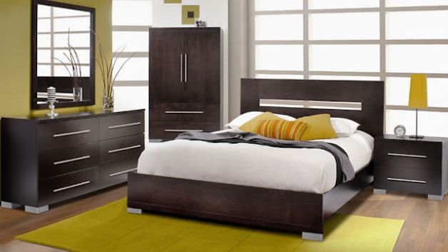 Chambre a coucher modele newyork 628 353 for Exemple chambre a coucher
